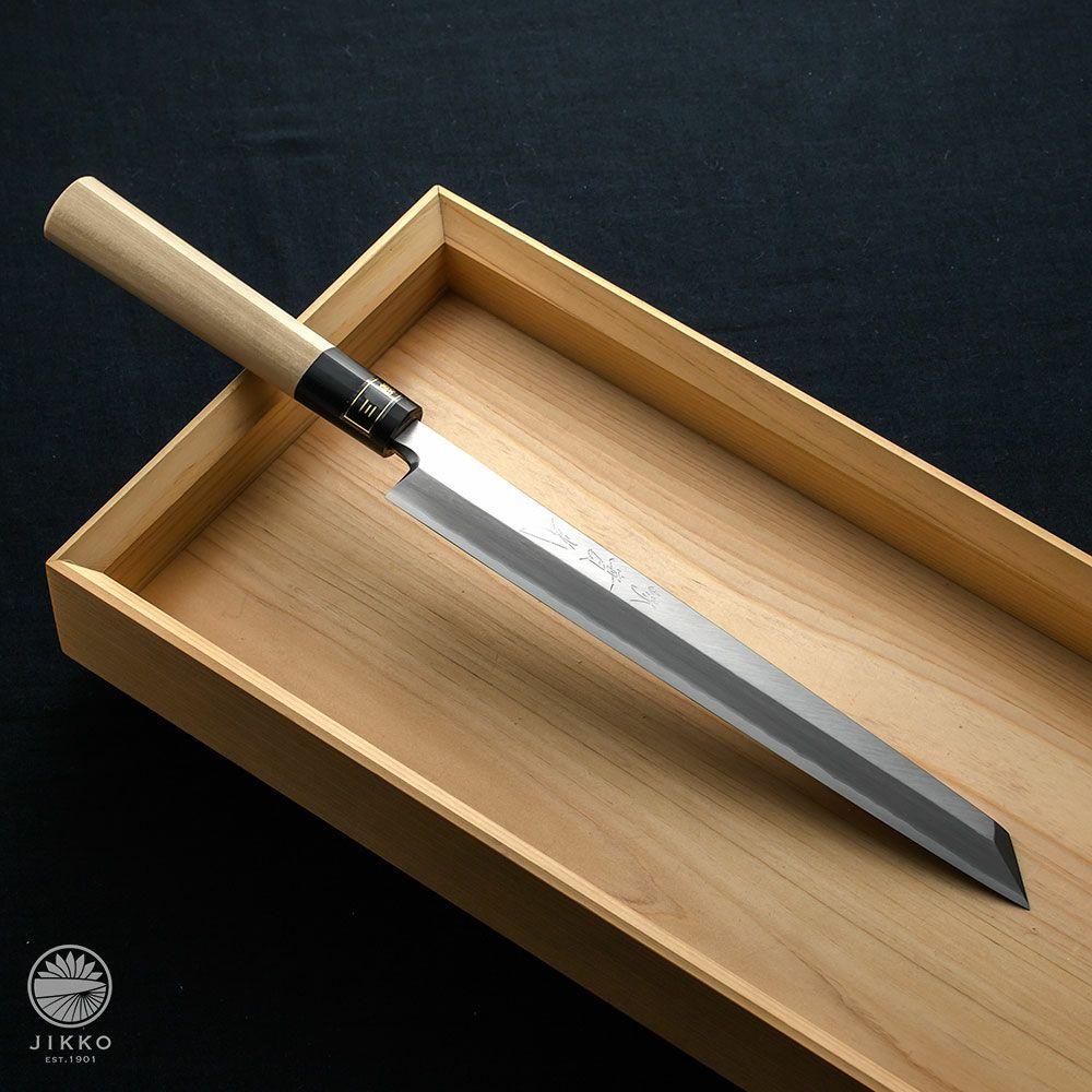 [刺身 切付包丁] 匠練銀三 刺身切付 210mm