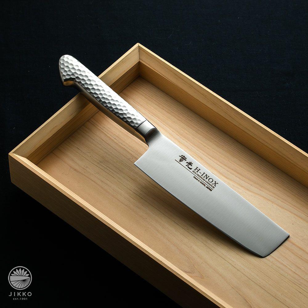 [菜切包丁] モナカ ツバ付 菜切 160mm