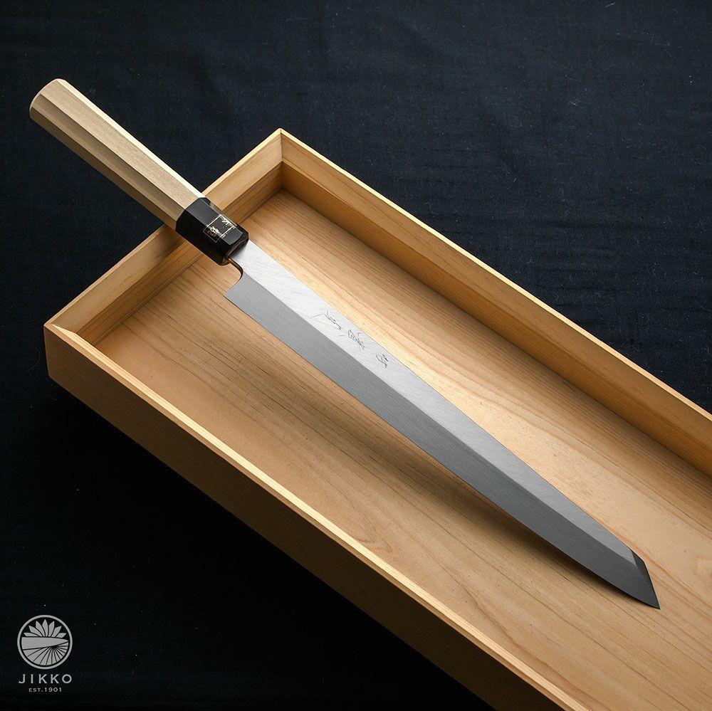 [刺身 切付包丁] 本焼白 刺身切付 300mm
