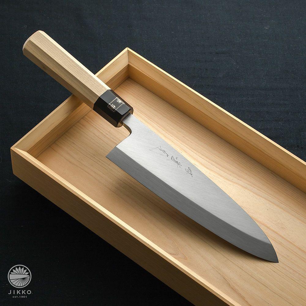 [出刃包丁] 本焼白 出刃 150mm